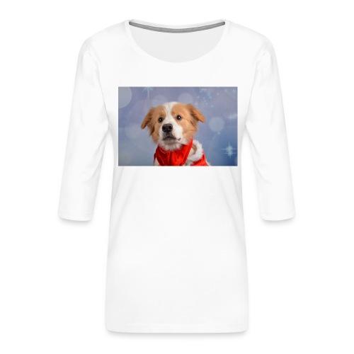 DSC_2040-jpg - Vrouwen premium shirt 3/4-mouw