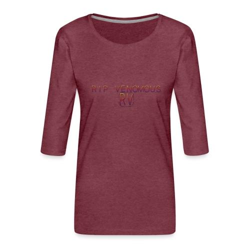 Rip Venomous White T-Shirt woman - Vrouwen premium shirt 3/4-mouw