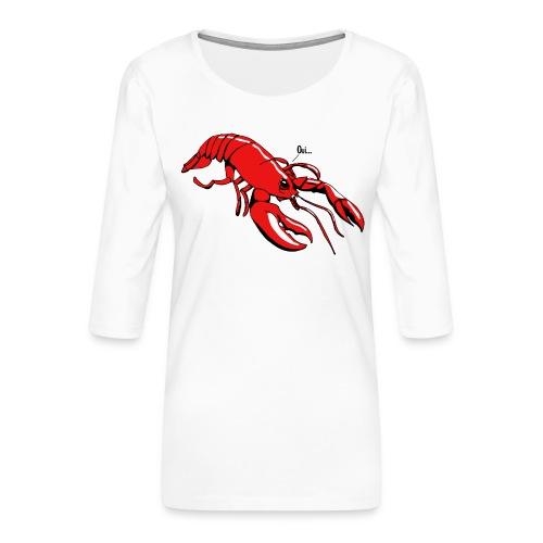 Lobster - Women's Premium 3/4-Sleeve T-Shirt