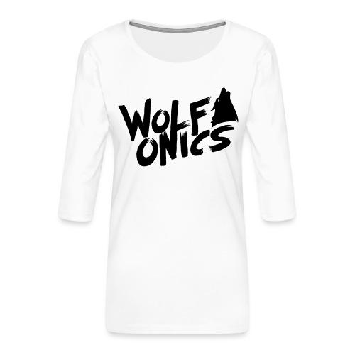 Wolfonics - Frauen Premium 3/4-Arm Shirt