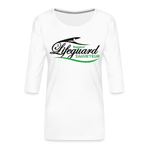 lifeguard NS - T-shirt Premium manches 3/4 Femme
