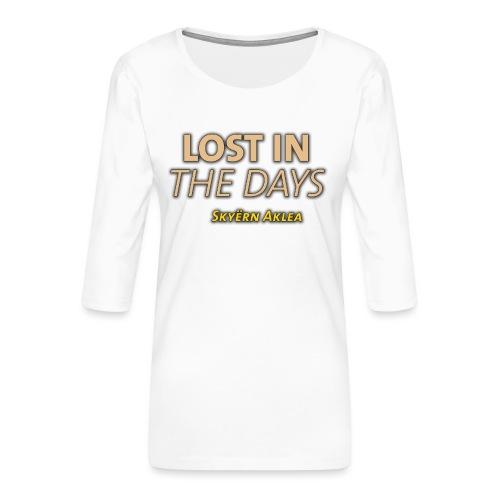 SKYERN AKLEA LOST IN THE DAYS - T-shirt Premium manches 3/4 Femme