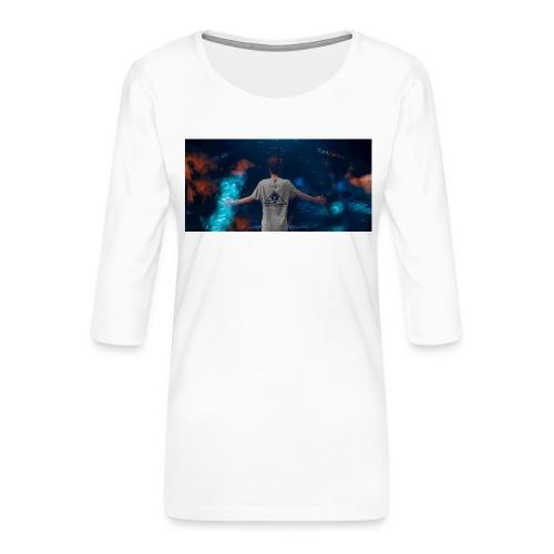 Tazza Beatstux - Maglietta da donna premium con manica a 3/4