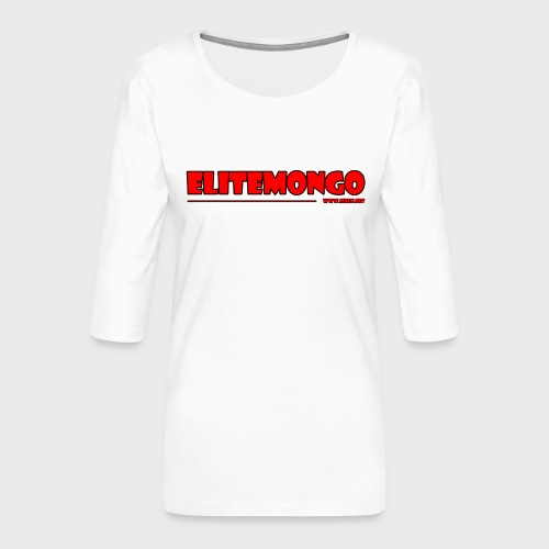 Elitemongo - Frauen Premium 3/4-Arm Shirt