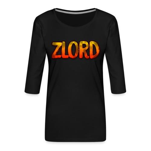 YouTuber: zLord - Maglietta da donna premium con manica a 3/4