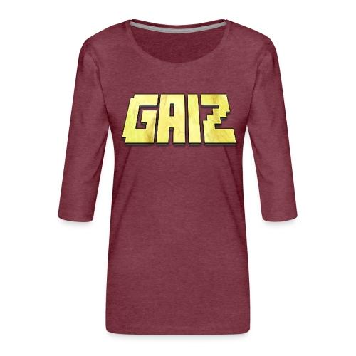POw3r-gaiz maglia - Maglietta da donna premium con manica a 3/4