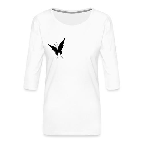 Schmetterling - Frauen Premium 3/4-Arm Shirt