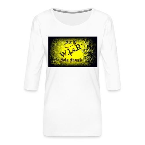 Six P & John Insanis Treenikassi - Naisten premium 3/4-hihainen paita
