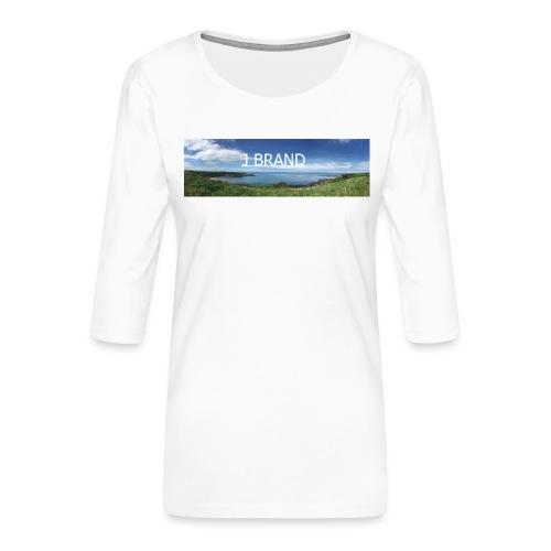 J BRAND Clothing - Women's Premium 3/4-Sleeve T-Shirt