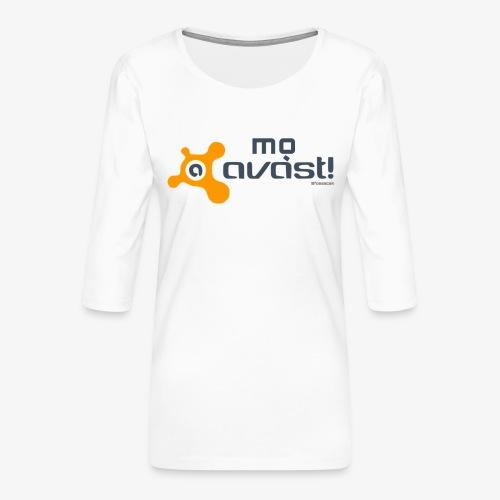 Avast! - Maglietta da donna premium con manica a 3/4