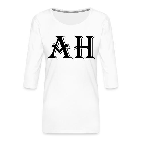 AH logo - Vrouwen premium shirt 3/4-mouw