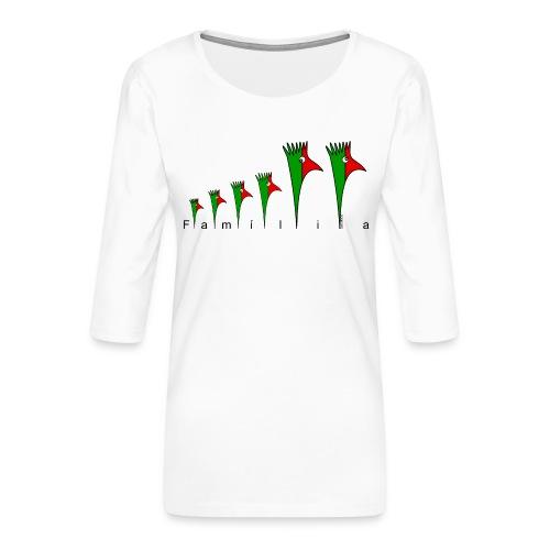 Galoloco - « Família » - T-shirt Premium manches 3/4 Femme