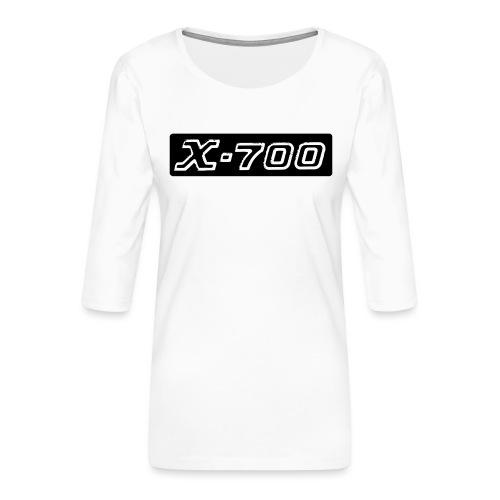 Minolta X-700 - Maglietta da donna premium con manica a 3/4
