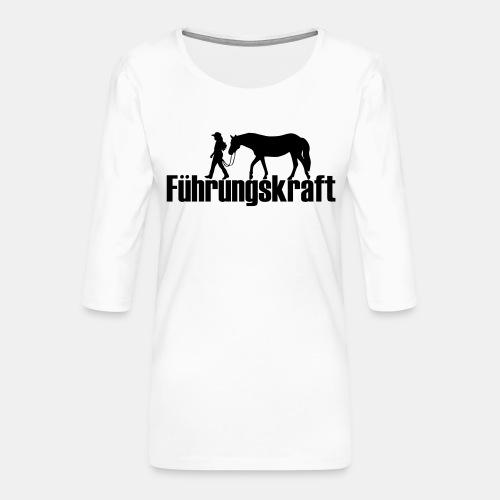 Führungskraft - Frauen Premium 3/4-Arm Shirt