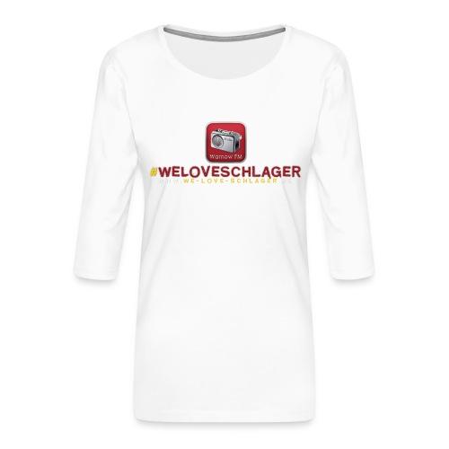 WeLoveSchlager de - Frauen Premium 3/4-Arm Shirt