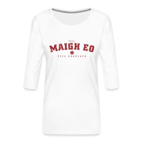 mayo vintage - Women's Premium 3/4-Sleeve T-Shirt