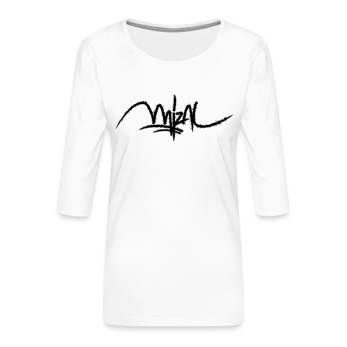 MizAl 2K18 - T-shirt Premium manches 3/4 Femme