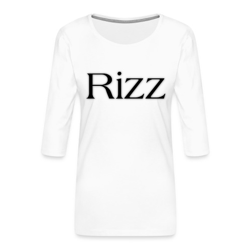 cooltext193349288311684 - Women's Premium 3/4-Sleeve T-Shirt
