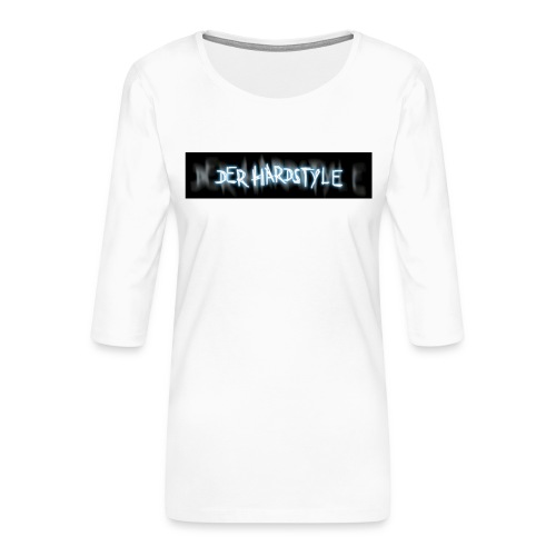DerHardstyle ONE - Frauen Premium 3/4-Arm Shirt