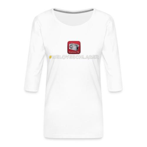 WeLoveSchlager 1 - Frauen Premium 3/4-Arm Shirt