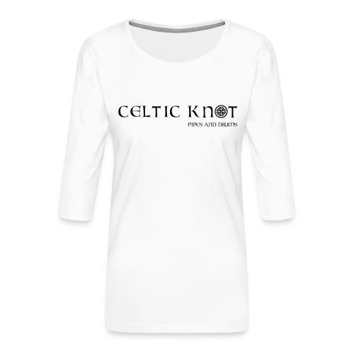 Celtic knot - Maglietta da donna premium con manica a 3/4