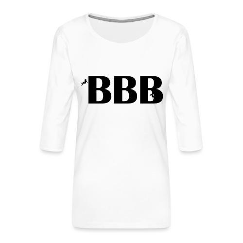 BBB - Frauen Premium 3/4-Arm Shirt