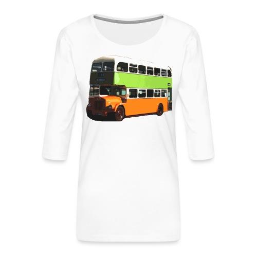 Glasgow Corporation Bus - Women's Premium 3/4-Sleeve T-Shirt
