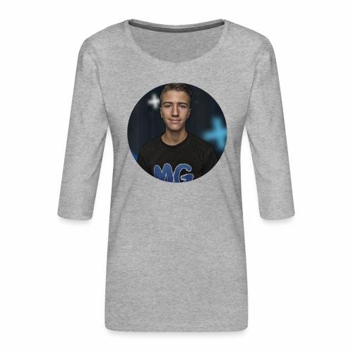Design blala - Vrouwen premium shirt 3/4-mouw
