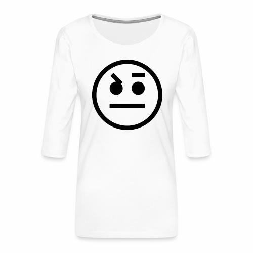 EMOJI 15 - T-shirt Premium manches 3/4 Femme
