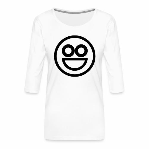 EMOJI 16 - T-shirt Premium manches 3/4 Femme