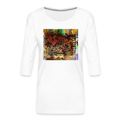 urban tribute - T-shirt Premium manches 3/4 Femme