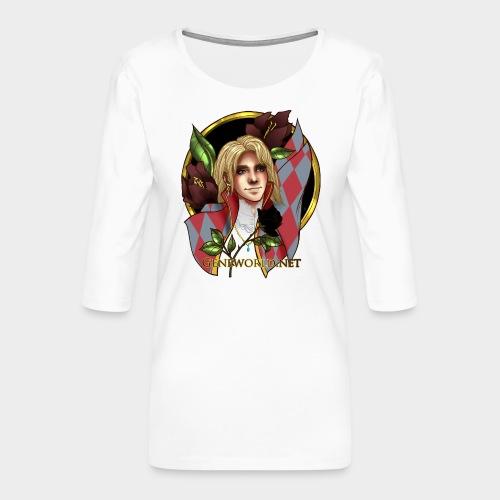 Geneworld - Hauru - T-shirt Premium manches 3/4 Femme