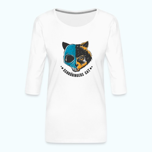 Schrödinger's Cat - Women's Premium 3/4-Sleeve T-Shirt