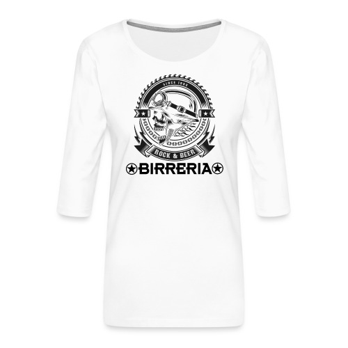 Rock Vintage - Frauen Premium 3/4-Arm Shirt