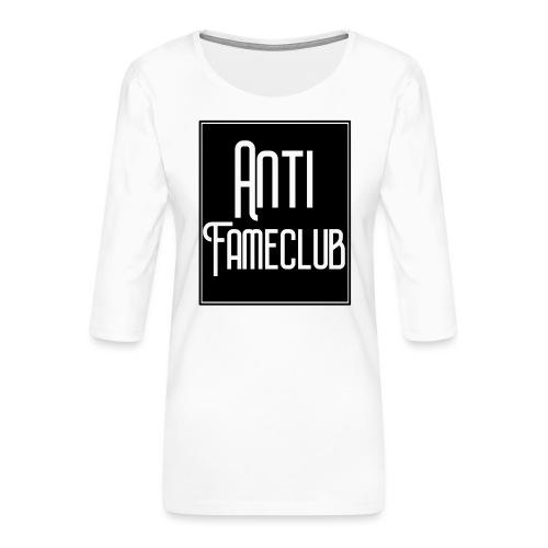 Anti FameClub - Frauen Premium 3/4-Arm Shirt