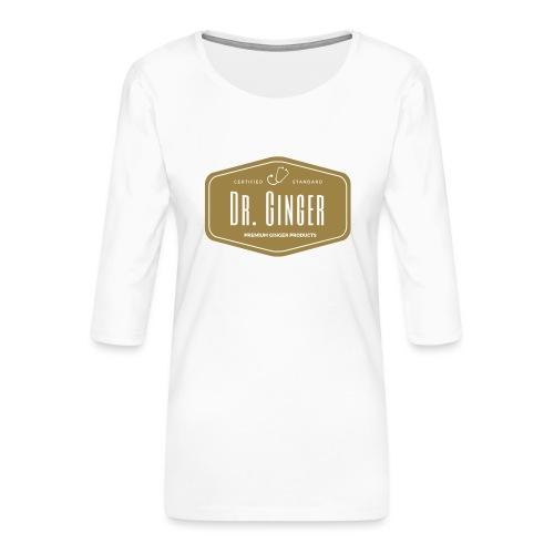 Dr. Ginger - Frauen Premium 3/4-Arm Shirt