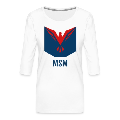 MSM ORIGINAL - Dame Premium shirt med 3/4-ærmer