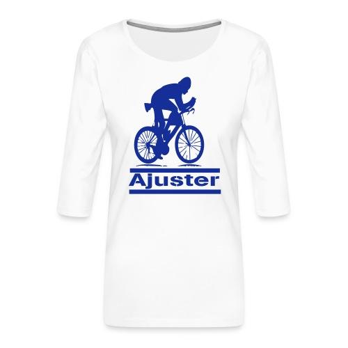 ajuster - T-shirt Premium manches 3/4 Femme