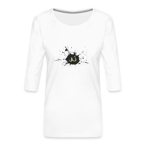 JU spray logo - Naisten premium 3/4-hihainen paita