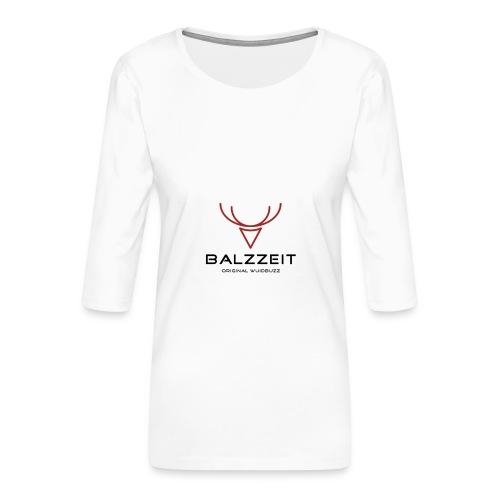 WUIDBUZZ   Balzzeit   Männersache - Frauen Premium 3/4-Arm Shirt