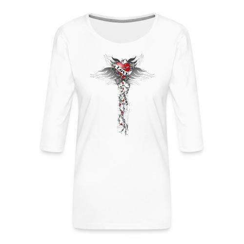 Love is a prison - Liebe ist ein Gefängnis - Frauen Premium 3/4-Arm Shirt