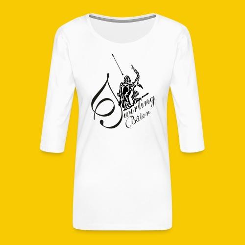 twirling b 2 - T-shirt Premium manches 3/4 Femme