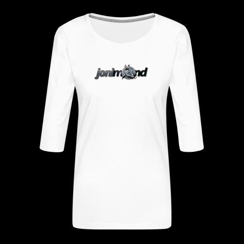 jonimond-sticker - Frauen Premium 3/4-Arm Shirt