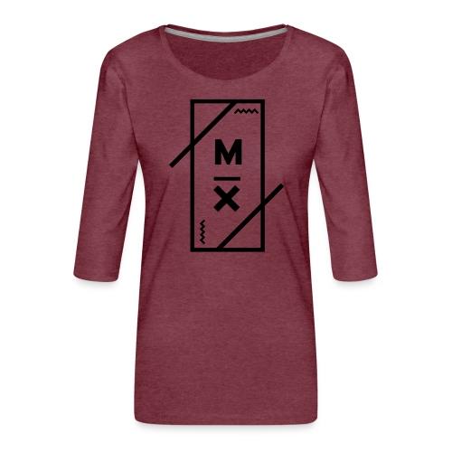 MX_9000 - Vrouwen premium shirt 3/4-mouw