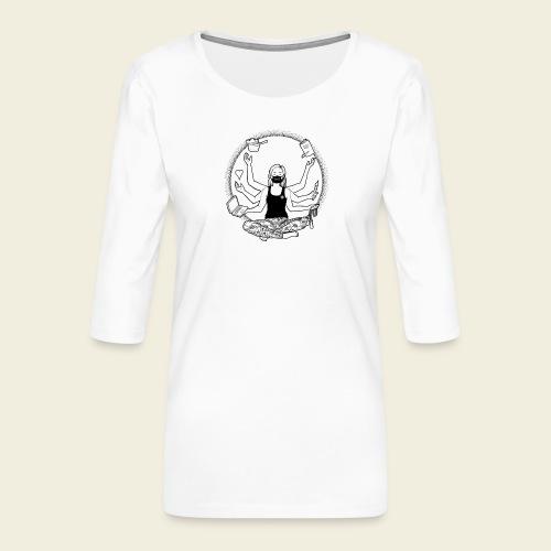 Lockdown: Ich schaffe das! - Frauen Premium 3/4-Arm Shirt