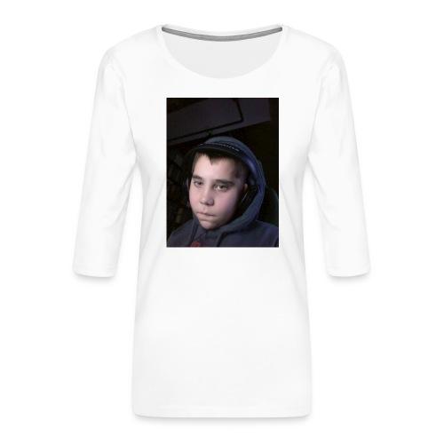 djyoutuber thisert - Vrouwen premium shirt 3/4-mouw