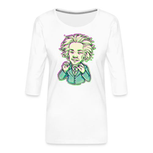 IMG 20210819 144743 e - Maglietta da donna premium con manica a 3/4