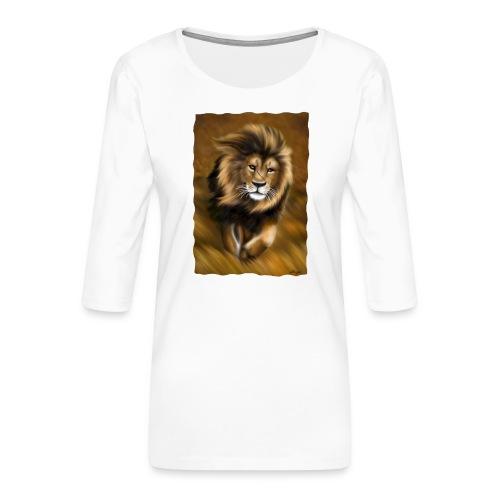 Il vento della savana - Maglietta da donna premium con manica a 3/4