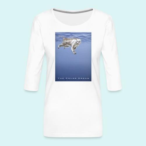 The Polar Dream - Women's Premium 3/4-Sleeve T-Shirt