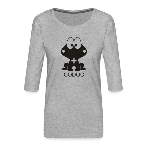 comic - Koszulka damska Premium z rękawem 3/4